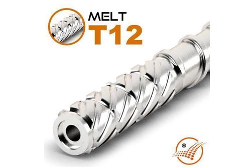 Spritzguss-Schnecke MELT T12